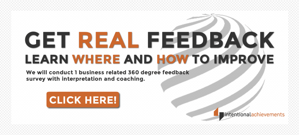 get real 360 degree feedback on your business